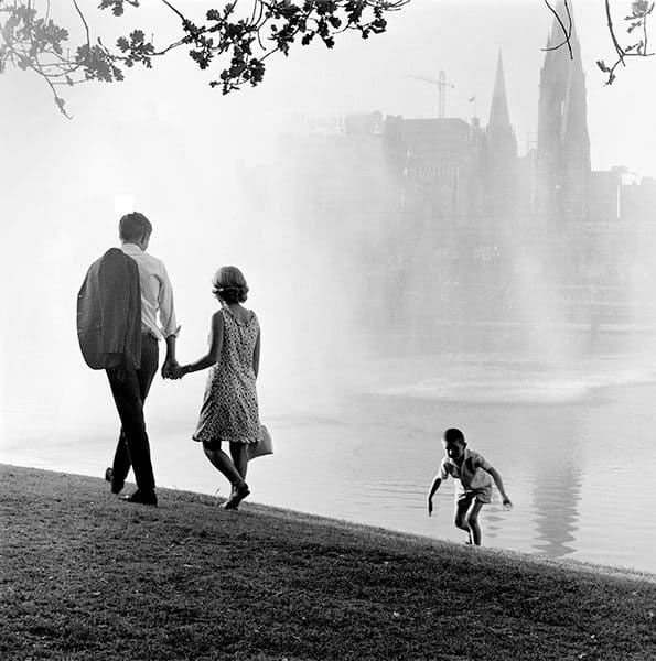 Maggie Diaz - By the Yarra, Melbourne (1960s)