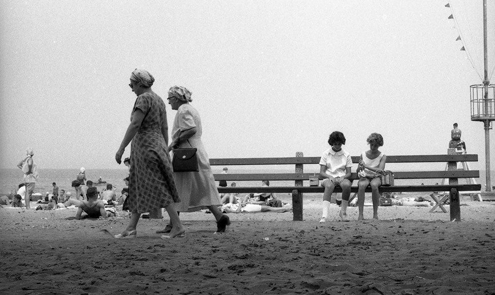 Maggie Diaz - Ladies, Lake Michigan (c.1954)