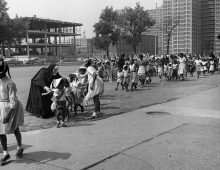 Maggie Diaz - Nuns and Kids, The Lower North Centre (1958)