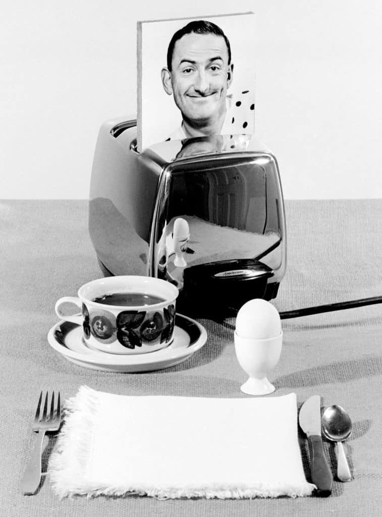 Maggie Diaz - Peter James 3AW Breakfast Presenter (1960s)