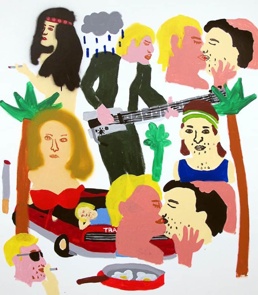 Nigel Sense - Rob's story #5 Narara Music Festival 1984 (2017) finalist in the 2017 Mosman Art Prize