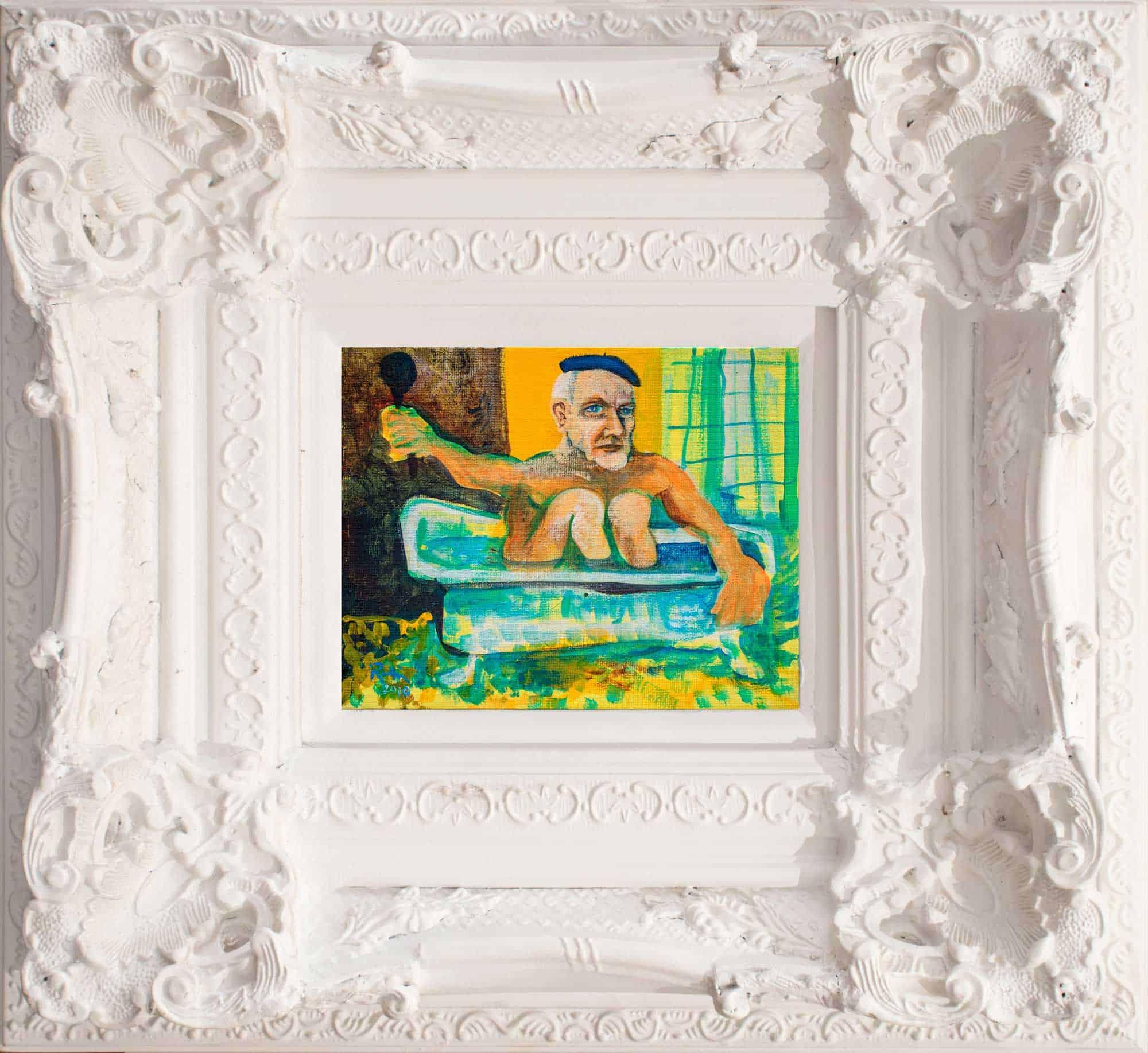 Victor Rubin - Untitled (Olsen in the Bath 1) (2010)