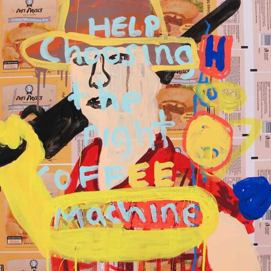 Nigel Sense - Art is a Coffee Machine (2017)