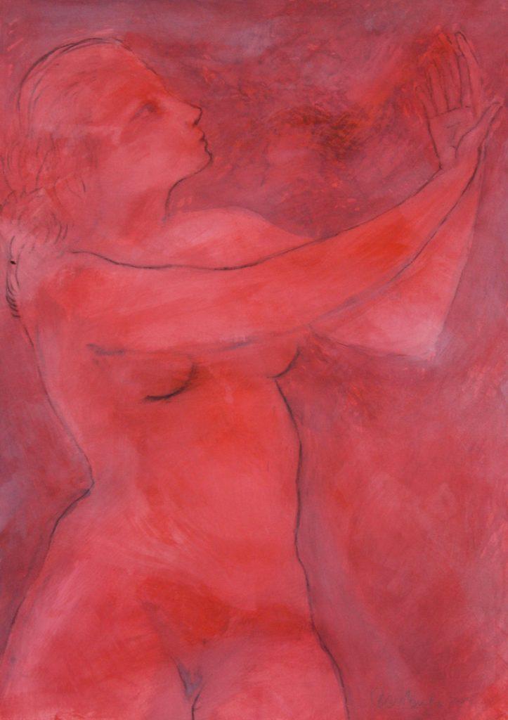 Bart Sanciolo- Red Mystic, 2017