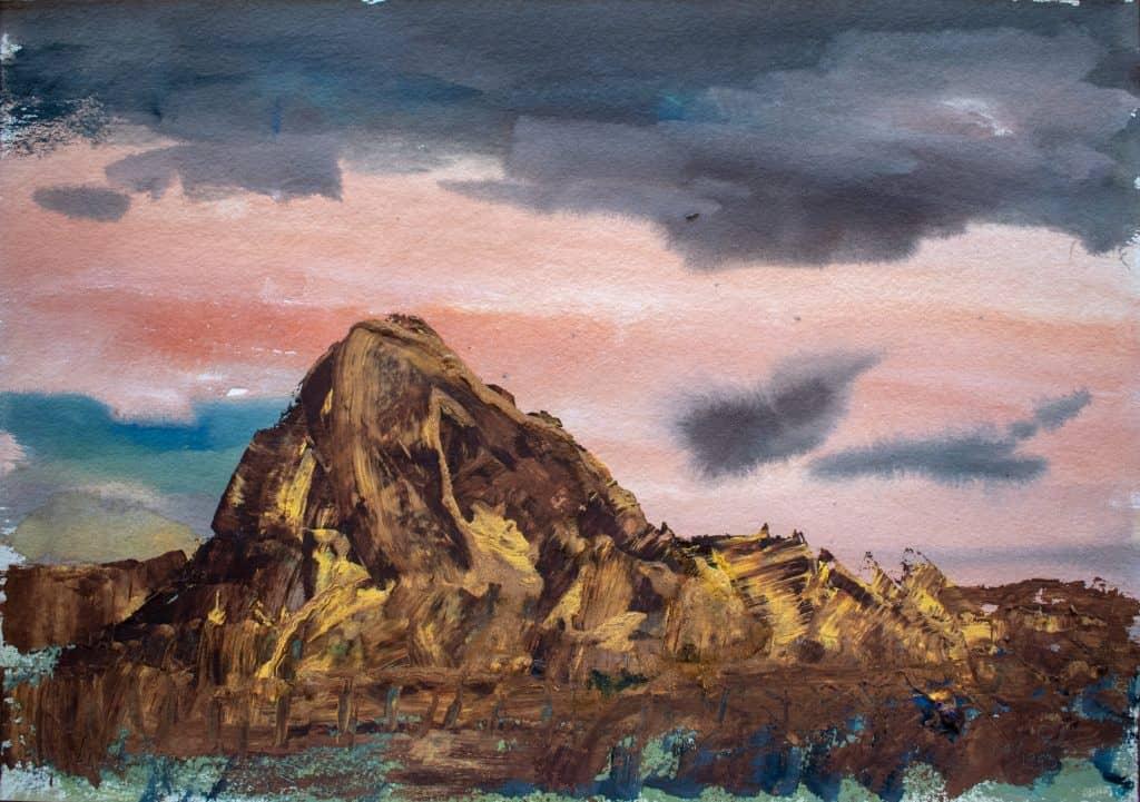 Victor Rubin - Along Gibb River Road II (1992)