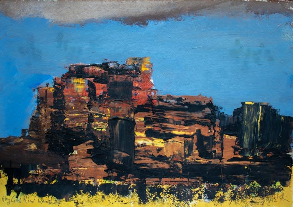 Victor Rubin - Along Gibb River Road III (1992)