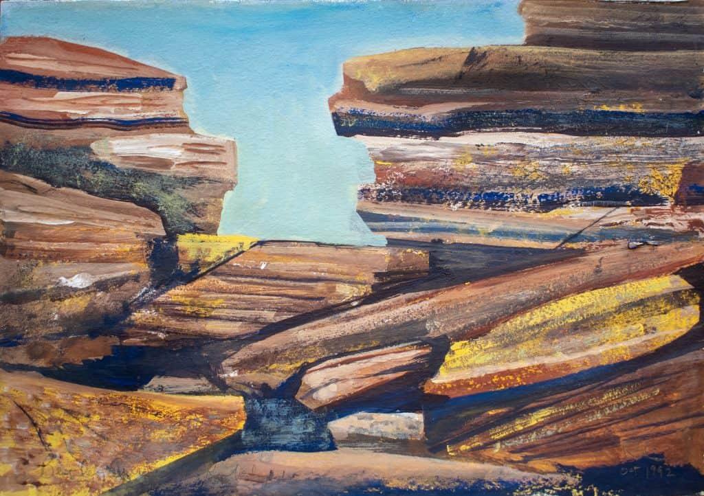 Victor Rubin - Beverly Springs- North West Kimberley I (1992)