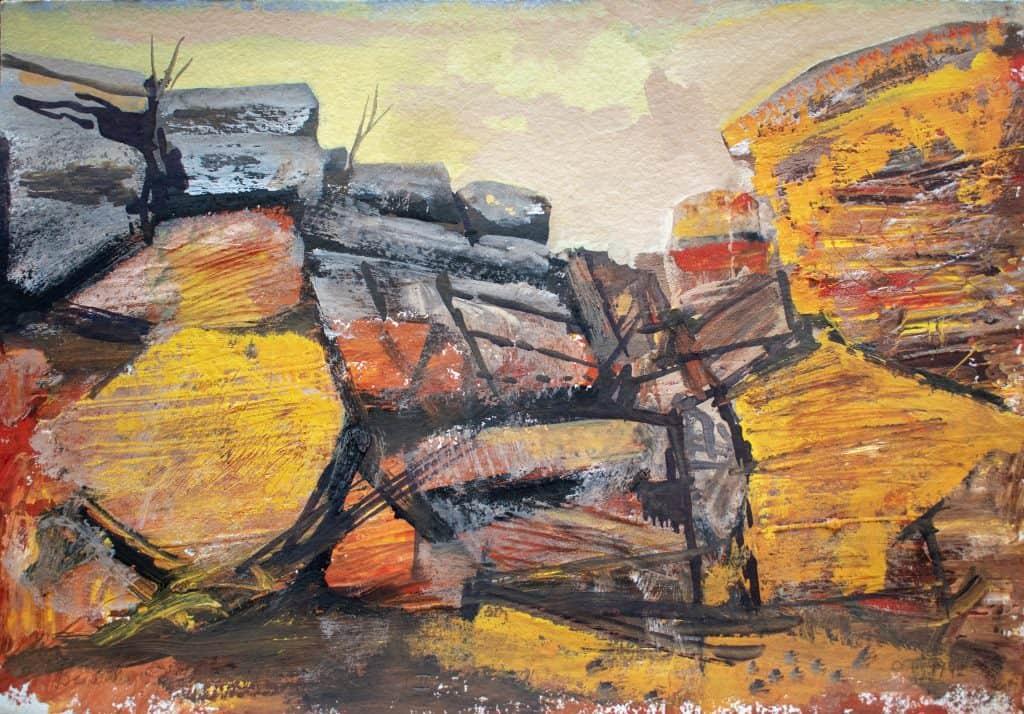 Victor Rubin - Beverly Springs- North West Kimberley II (1992)