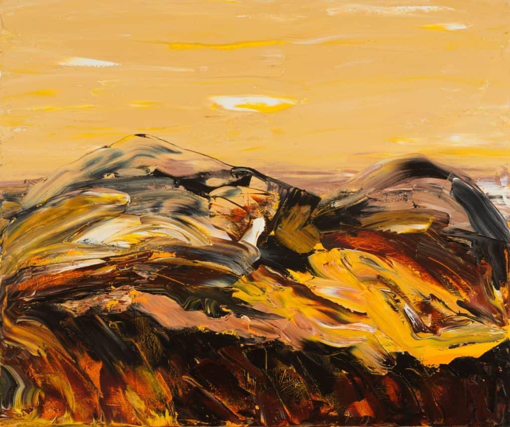 Mark DavisMirage, 2020 Oil on canvas100 cm by 120 cm$3,500
