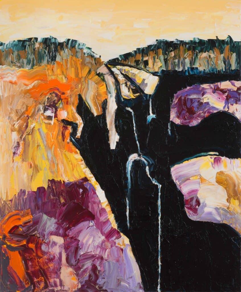 Mark DavisCascade II, 2020Oil on canvas120 cm by 101 cm$3,500
