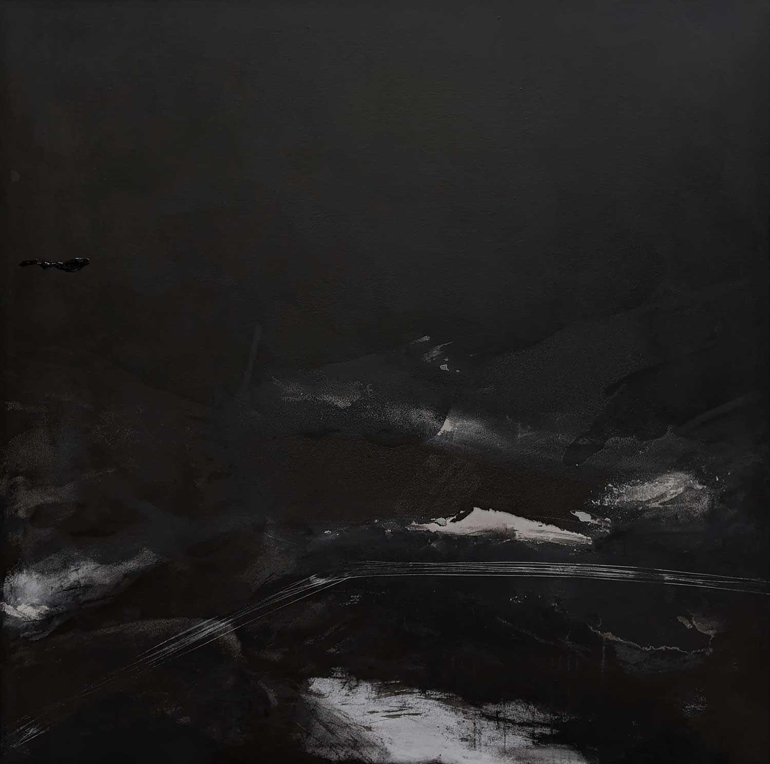 Emilie HeurteventThe Abyss #6, 2020Acrylic and ink on canvas122 cm by 122 cm$2,500