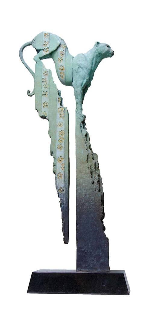 Stephen GlassborowFlora and Fauna, 2021Bronze sculpture95 cm high$11,500