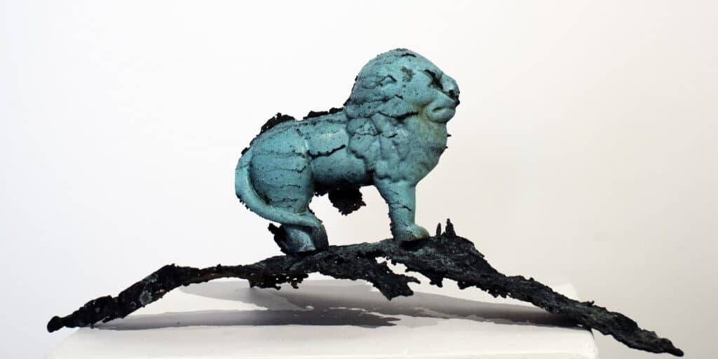 Murray WalkerThe Royal Lion, 2020Bronze assemblages35 cm by 21 cm by 18 cm$3,000