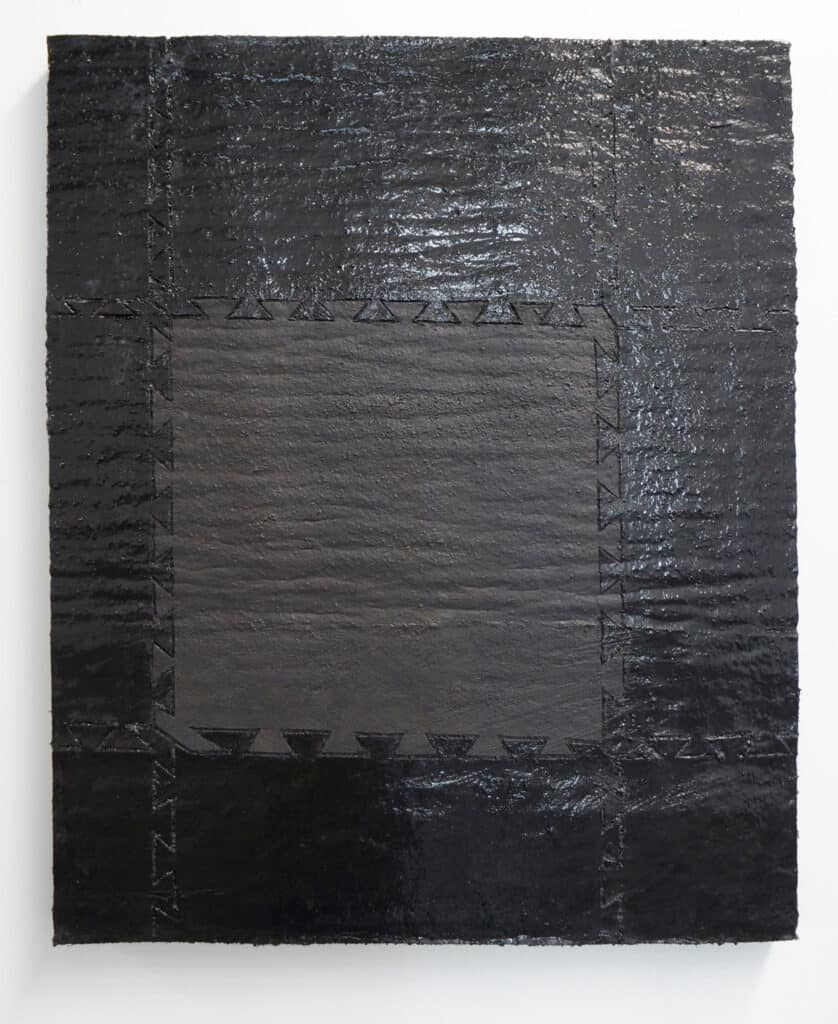 Peter ThomasMatte Mat, 2018Oil on felt mounted on panel96 cm by 76 cm$2,800