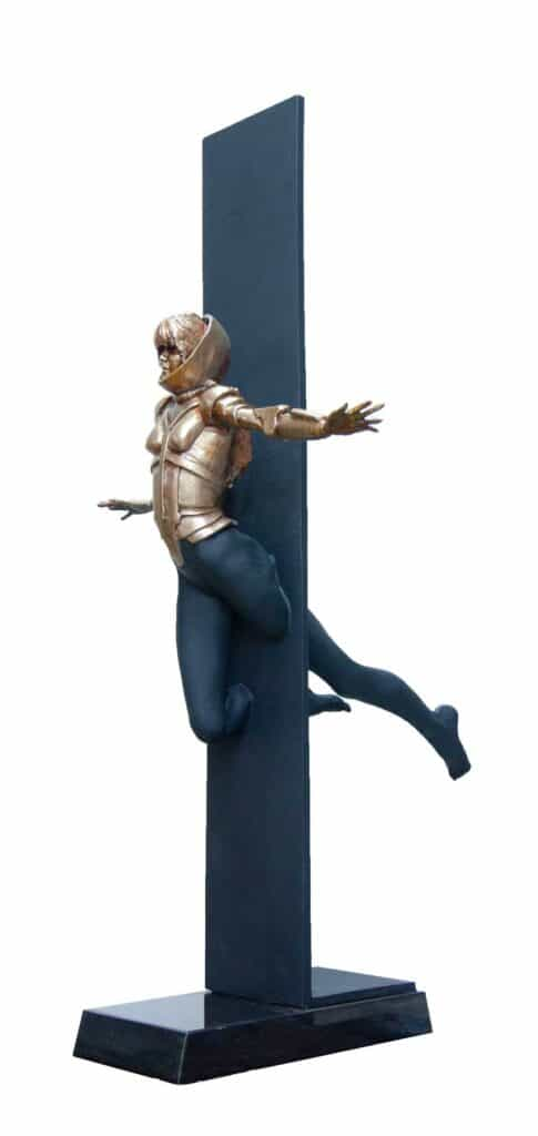 Stephen Glassborow Vertigo, 2021Bronze95 cm High$11,500