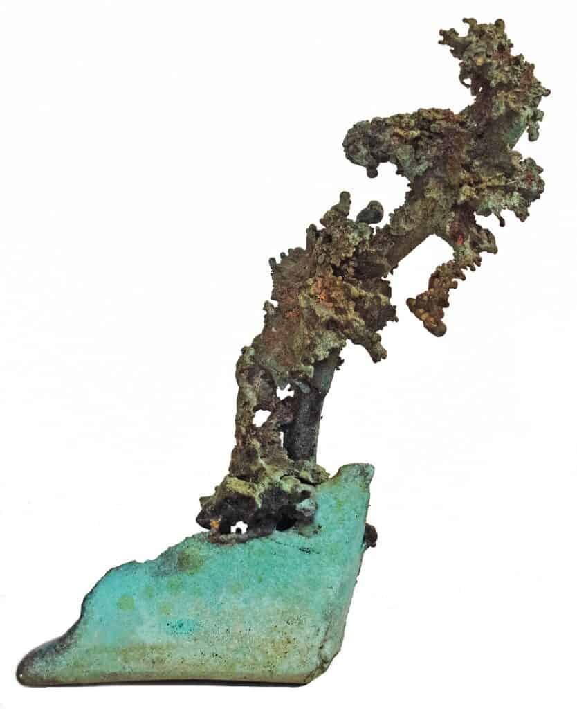Murray Walker<br><em>Onwards and Upwards</em>, 2020<br>Bronze assemblages<br>19 cm by 17 cm<br>$1,500